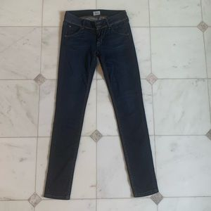 Hudson Collin Flap Skinny Stretchy Jeans